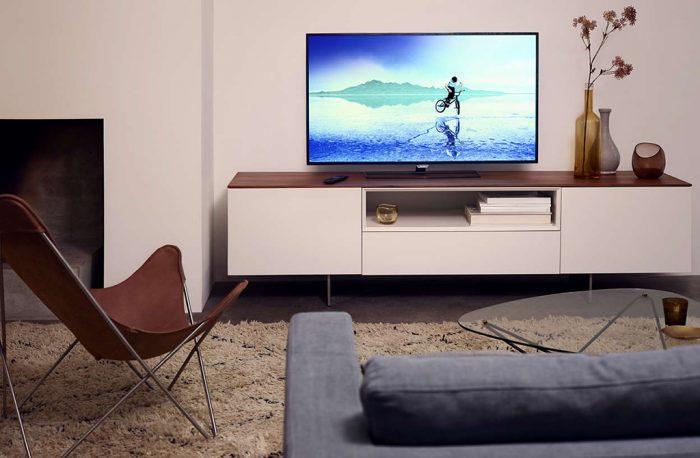 Une distance idéale entre la tv et le canapé
