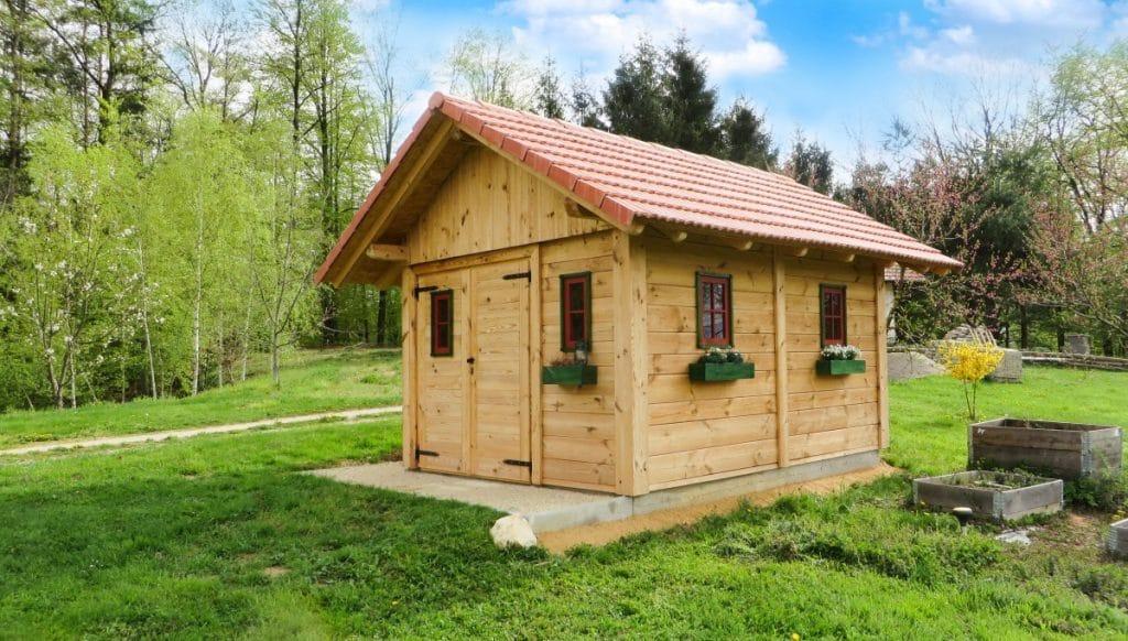 Les conseils pour bien choisir le toit de sa cabane de jardin
