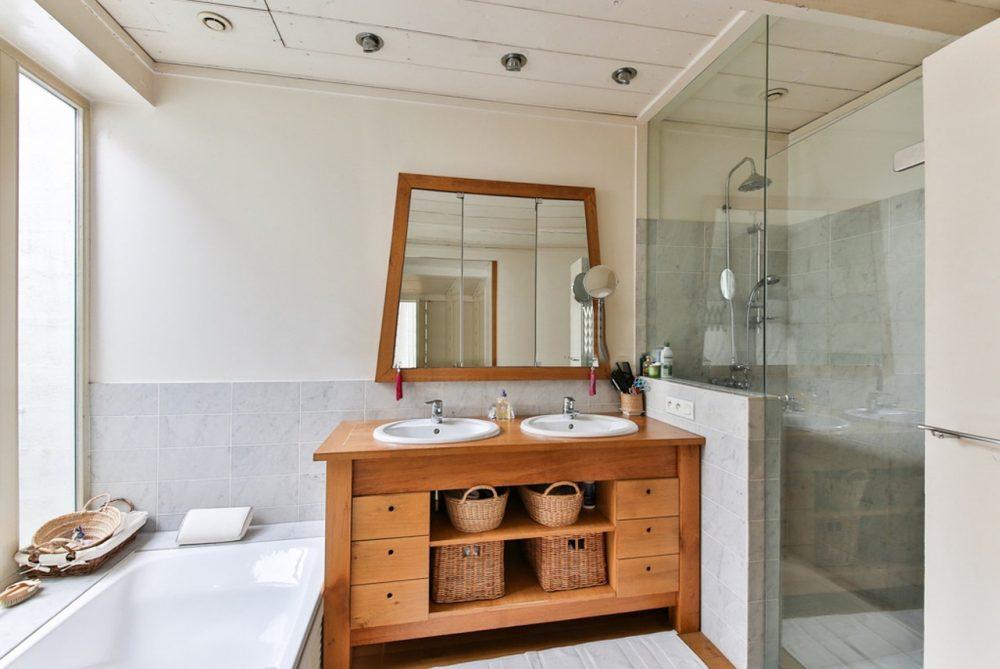 Salle de bains petit espace